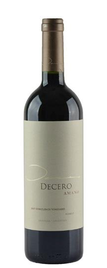 2009 Decero, Finca Amano Remolinos Vineyard