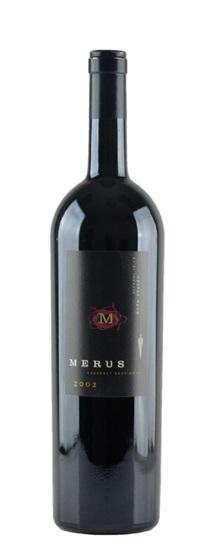 2002 Merus Cabernet Sauvignon