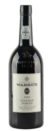 Warres Vintage 1983 - Iportwine Boutique