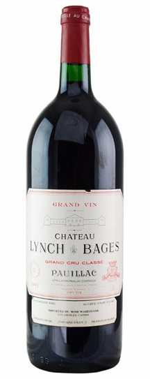 1995 Lynch Bages Bordeaux Blend