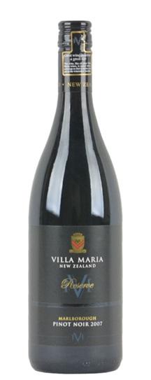 2007 Villa Maria Pinot Noir Reserve