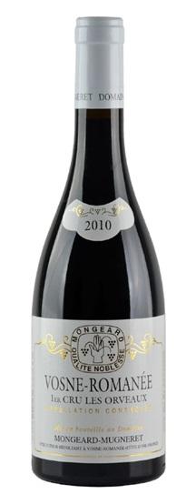 2008 Mongeard-Mugneret, Domaine Vosne Romanee Les Orveaux Premier Cru