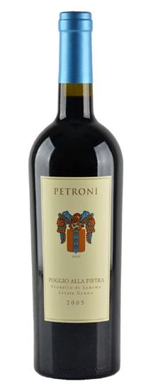 2005 Petroni Sangiovese Poggio Alla Pietra