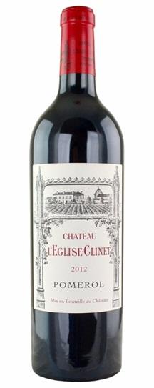 2012 L'Eglise Clinet Bordeaux Blend