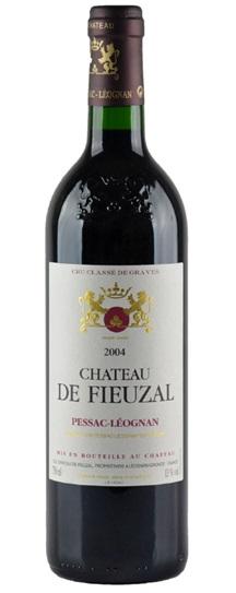 2001 Fieuzal, De Bordeaux Blend