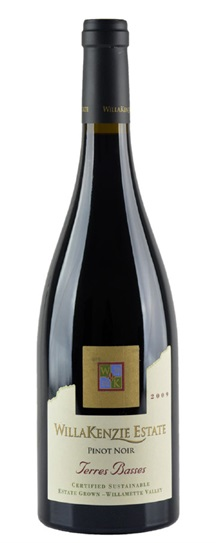 2009 Willakenzie Estate Pinot Noir Terres Basses