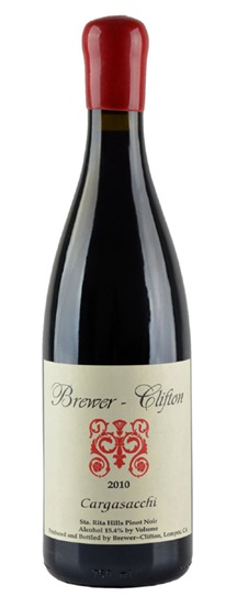 2011 Brewer-Clifton Pinot Noir Cargasacchi