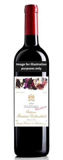 1992 Mouton-Rothschild Bordeaux Blend