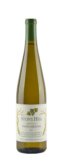 2011 Stony Hill White Riesling