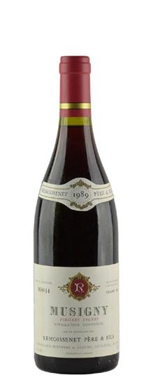 1989 Remoissenet Pere et Fils Musigny Vieilles Vignes