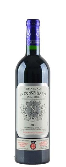 2001 Conseillante, La Bordeaux Blend