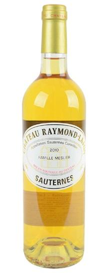 2010 Raymond-Lafon Sauternes Blend
