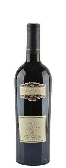 2009 Gamba Old Vine Zinfandel Moratto Vineyard
