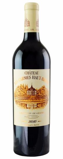 2010 Les Carmes Haut Brion Bordeaux Blend