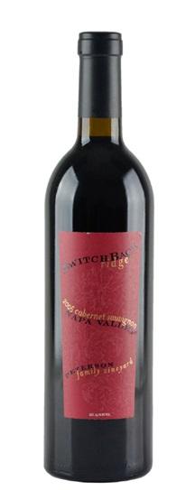 2004 Switchback Ridge Cabernet Sauvignon Peterson Family Vineyard