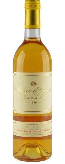1986 Chateau d'Yquem Sauternes Blend