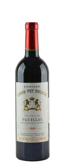 2001 Grand-Puy-Ducasse Bordeaux Blend