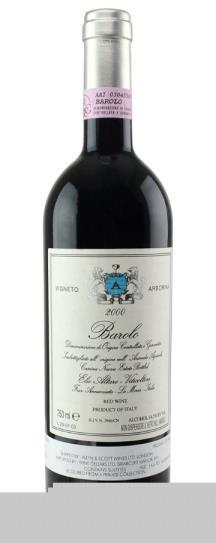 2000 Elio Altare Barolo Arborina