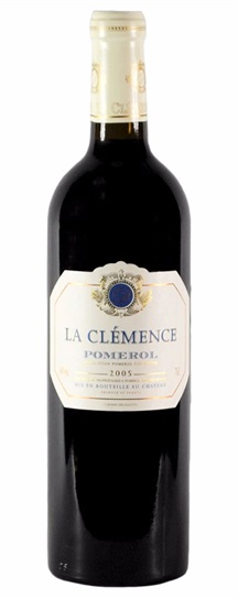 2005 La Clemence Bordeaux Blend