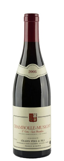2008 Domaine Christian Serafin Chambolle Musigny les Baudes
