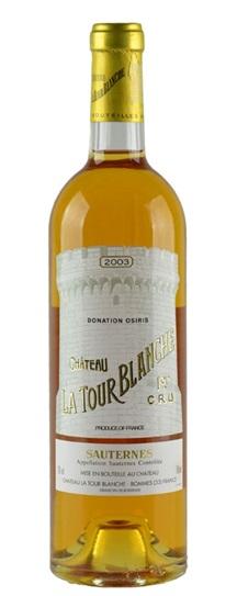 2003 La Tour Blanche Sauternes Blend