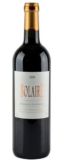 2008 Bolaire Bordeaux Superieur