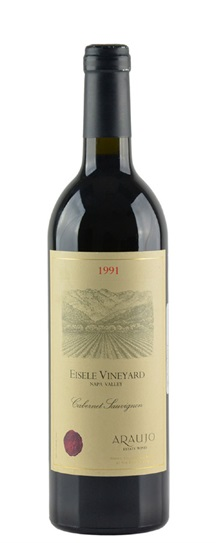 1991 Araujo Estate Cabernet Sauvignon Eisele Vineyard