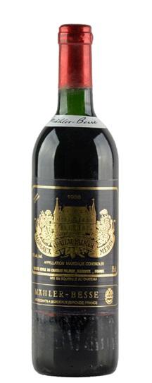 1988 Chateau Palmer Bordeaux Blend