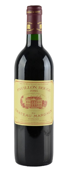 1985 Margaux, Pavillon Rouge du Chateau Bordeaux Blend