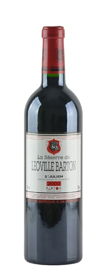 2000 Leoville-Barton La Reserve de Leoville Barton