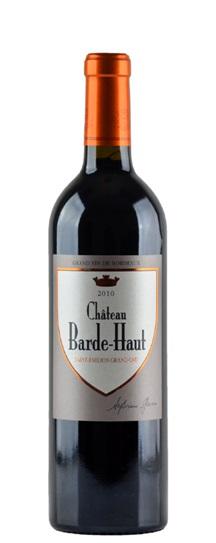 2010 Barde-Haut Bordeaux Blend