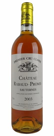 1988 Rabaud-Promis Sauternes Blend