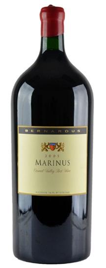 2005 Bernardus Marinus Proprietary Red Wine
