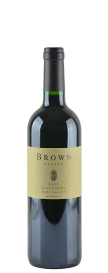 2012 Brown Estate Zinfandel