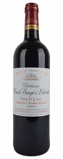 2002 Haut Bages Liberal Bordeaux Blend