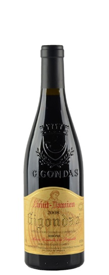 2007 St Damien, Domaine Gigondas Vieilles Vignes