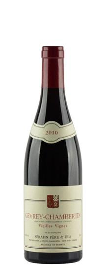 2010 Domaine Christian Serafin Gevrey Chambertin Vieilles Vignes