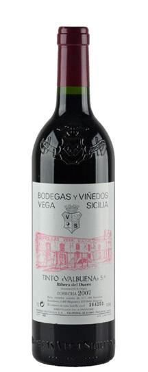 2007 Vega Sicilia Valbuena