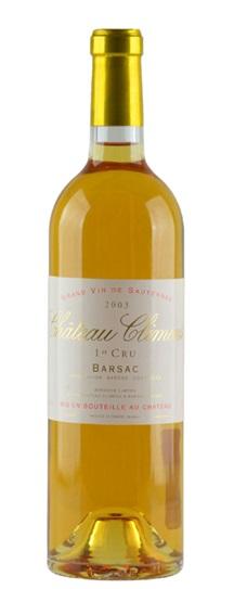 2003 Climens Sauternes Blend