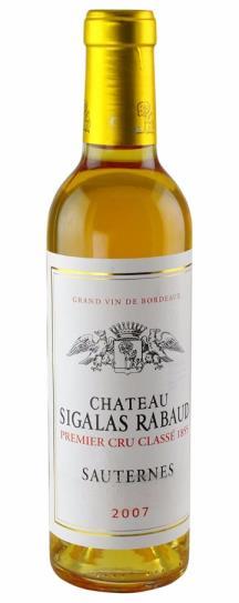 2007 Sigalas Rabaud Sauternes Blend