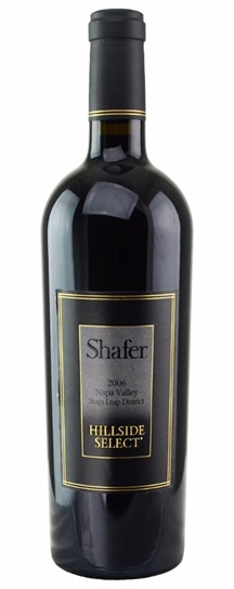 2004 Shafer Vineyards Cabernet Sauvignon Hillside Select