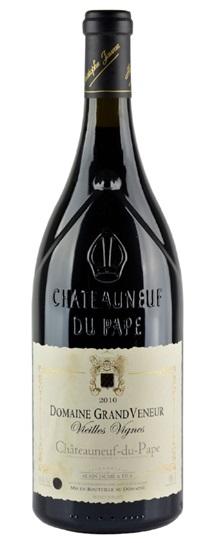 2010 Domaine Grand Veneur Chateauneuf du Pape Vieilles Vignes