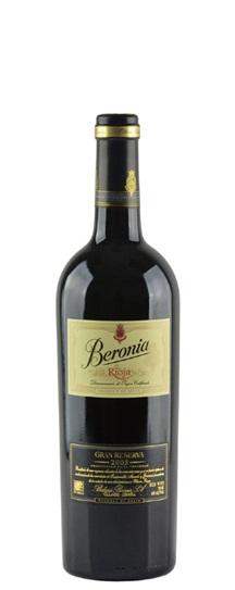2004 Beronia, Bodegas Rioja Gran Reserva