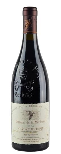 2000 Domaine de la Mordoree Chateauneuf du Pape Cuvee de la Reine des Bois