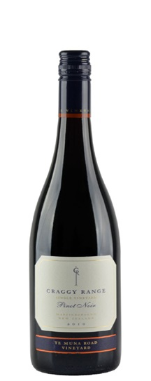 2010 Craggy Range Pinot Noir Te Muna Road Vineyard