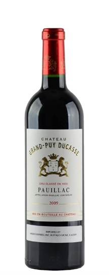 2009 Grand-Puy-Ducasse Bordeaux Blend