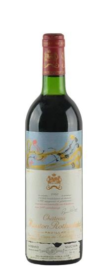 1978 Mouton-Rothschild Bordeaux Blend