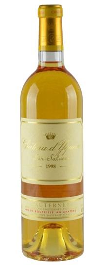1998 Chateau d'Yquem Sauternes Blend