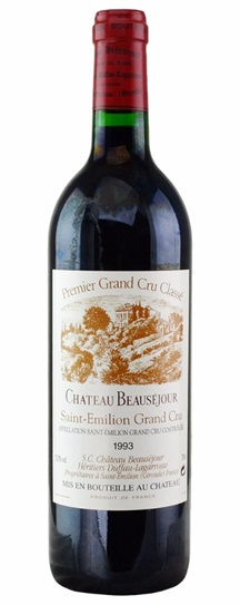 1993 Beausejour (Duffau Lagarrosse) Bordeaux Blend