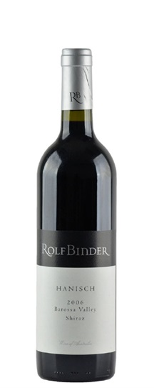 2006 Binder Wines, Rolf Shiraz Hanisch